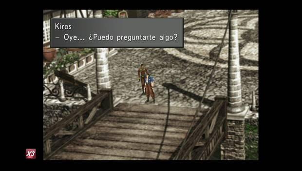Final Fantasy VIII Remastered - Kiros y Laguna en Winhill