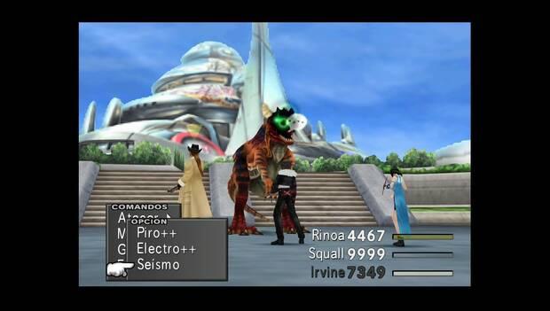 Final Fantasy VIII Remastered - Arqueosaurio ciego