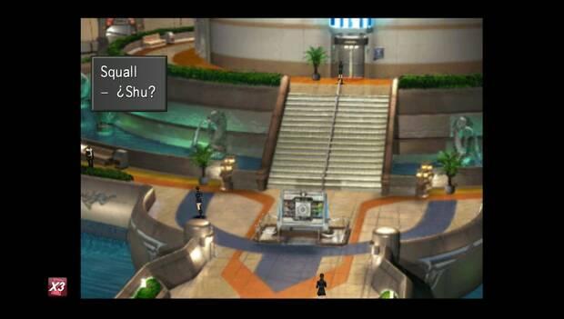 Final Fantasy VIII Remastered - Shu sube en el ascensor
