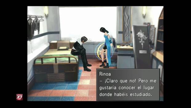 Final Fantasy VIII Remastered - Rinoa quiere dar un paseo con Squall