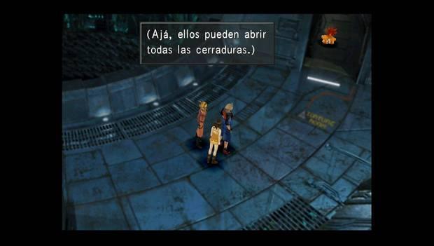 Final Fantasy VIII Remastered - el mumba abre la celda de Squall