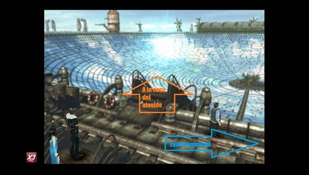 Final Fantasy VIII Remastered - Rutas a seguir en Fisherman's Horizon