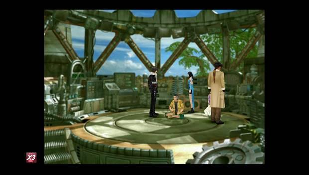 Final Fantasy VIII Remastered - Alcalde Dobe en Fisherman's Horizon