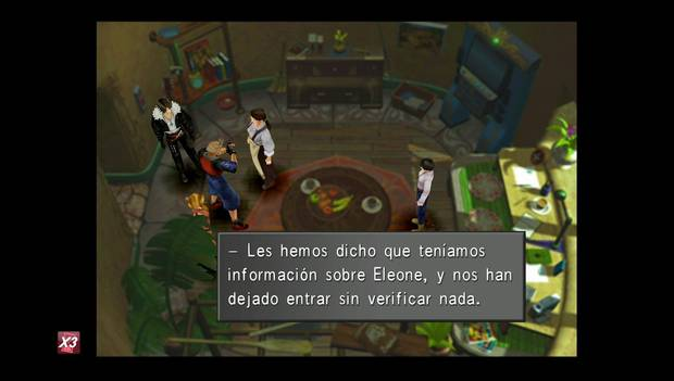 Final Fantasy VIII Remastered - Zell habla con su madre