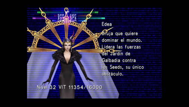 Final fantasy VIII Remastered - Jefe Edea