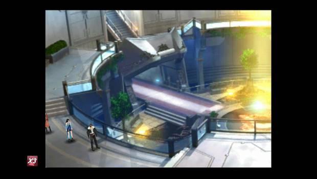 Final Fantasy VIII Remastered - Plaza central del Jardín, planta superior