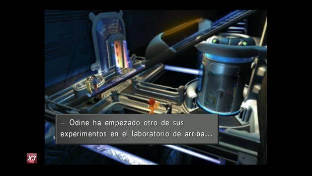Final Fantasy VIII Remastered - Odine hace experimentos en el laboratorio