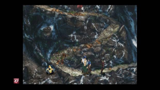 Final Fantasy VIII Remastered - Punto de guardado en la colina