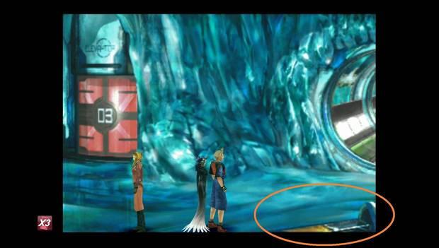 Final Fantasy VIII Remastered - zona de descenso del Lunatic Pandora