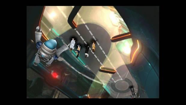 Final Fantasy VIII Remastered - Pareja en el pasillo de cristal