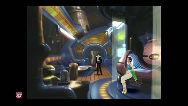 Final Fantasy VIII Remastered - Eleone en la base lunar