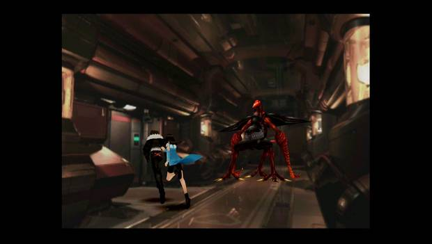 Final Fantasy VIII Remastered - Squall evita al Gestalt rojo