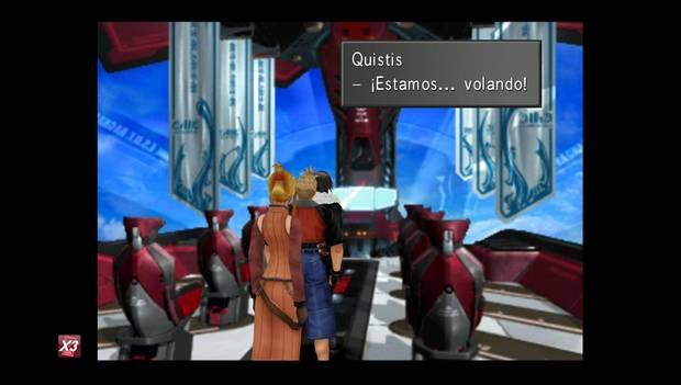 Final Fantasy VIII Remastered - El Lagunamov despega
