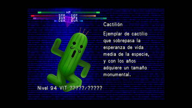 Final Fantasy VIII Remastered - Jefe Cactilión