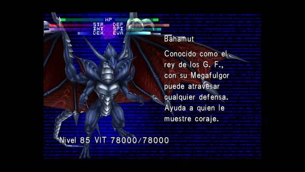 Final Fantasy VIII Remastered - Jefe Bahamut