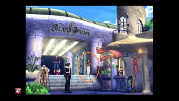 Final Fantasy VIII Remastered - Reina de las Cartas en Balamb