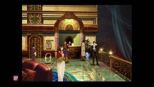 Final Fantasy VIII Remastered - Reina de las Cartas en Deling