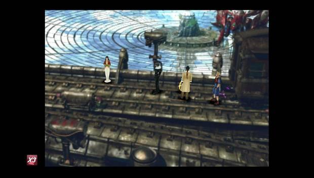 Final Fantasy VIII Remastered - Reina de las Cartas en Fisherman's Horizon