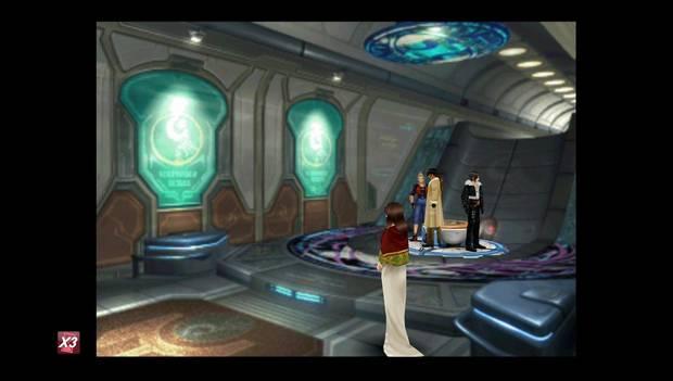 Final fantasy VIII Remastered - Reina de las Cartas en Esthar