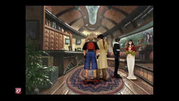 Final Fantasy VIII Remastered - Reina de las Cartas en Trabia