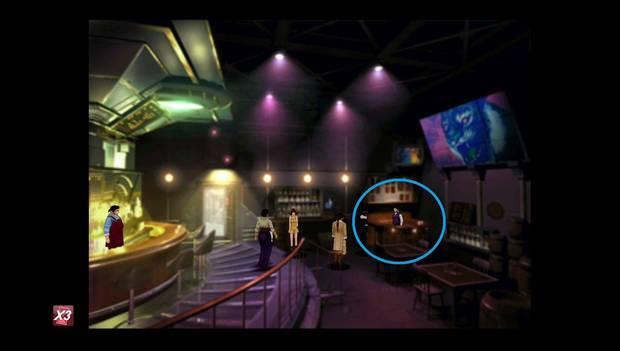 Final Fantasy VIII Remastered - dueño del bar en Timber con la carta de Helltrain
