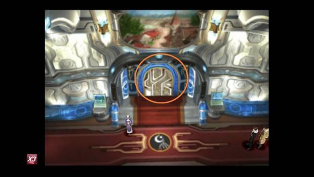 Final Fantasy VIII Remastered - Habitación donde está el ayudante con la carta de Fénix