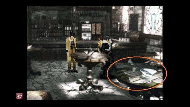 Final Fantasy VIII Remastered - Flores en el bar de Raine