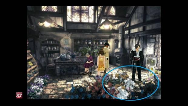 Final Fantasy VIII Remastered - Flores en la floristería