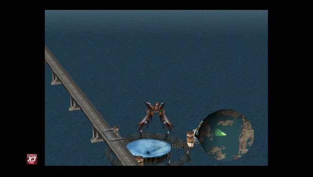 Final Fantasy VIII Remastered - Lagunamov sobre Fisherman's Horizon