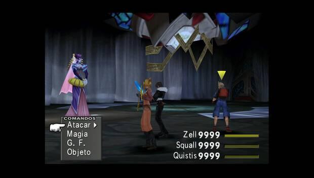 Final Fantasy VIII Remastered - Brujas del espacio-tiempo