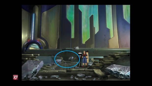 Final Fantasy VIII Remastered - Agujero en el muro del Lunatic Pandora para continuar