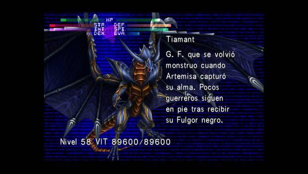 Final Fantasy VIII Remastered - Jefe Tiamant