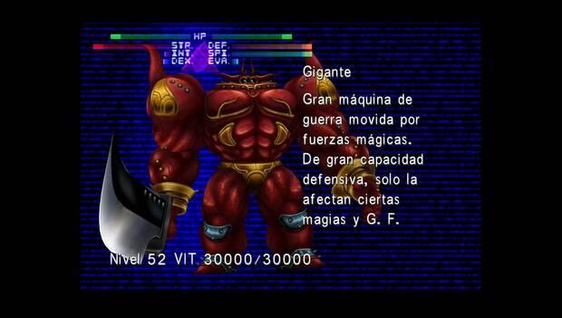 Final Fantasy VIII Remastered - Jefe Gigante