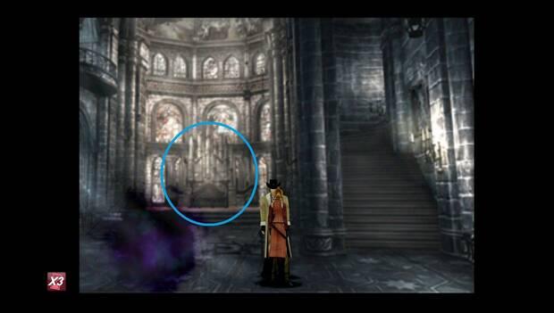 Final Fantasy VIII Remastered - órgano en la iglesia del castillo de artemisa