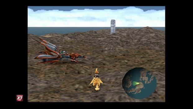 Final Fantasy VIII Remastered - Lagunamov cerca del desierto Kayukbahr y puerta al castillo