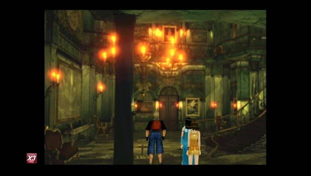 Final Fantasy VIII Remastered - Sala de la biblioteca