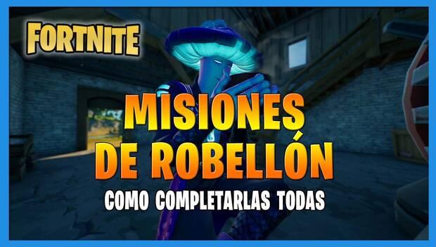 Fortnite Battle Royale - Robell Missions