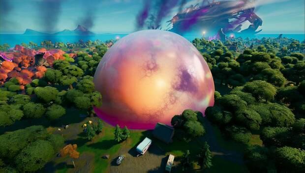 Fortnite Battle Royale - El Parallel: bubble in El Parallel