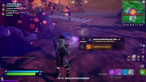 Fortnite Battle Royale - El Parallel: Upgraded El Parallel Weapons