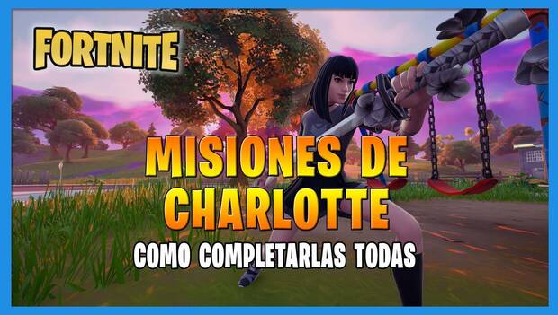 Fortnite battle Royale - Charlotte missions