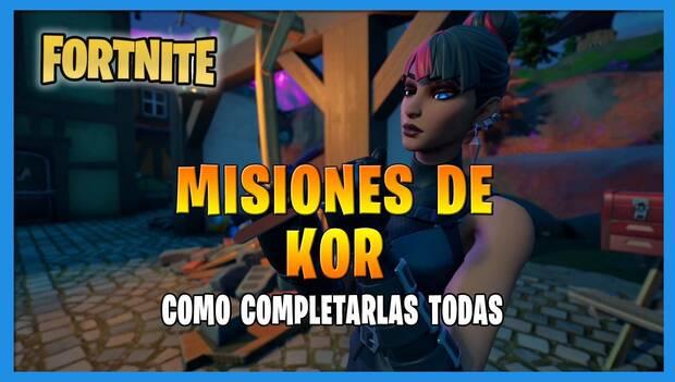 Fortnite Battle Royale - Kor Missions