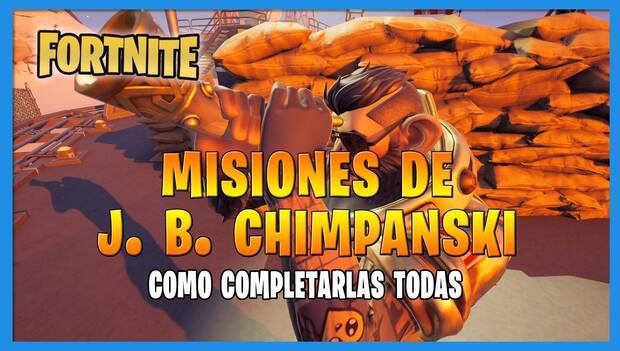 Fortnite Battle Royale - JB Chimpansky Missions