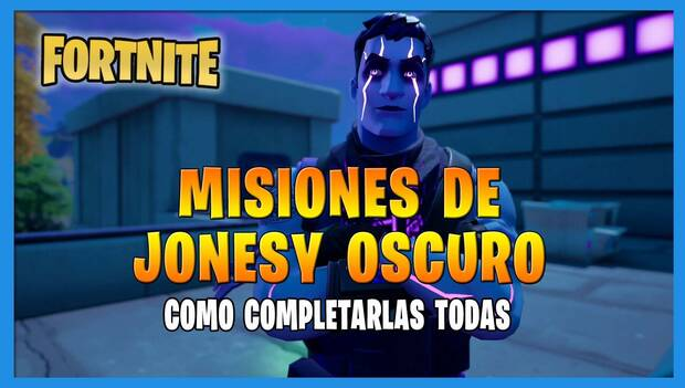 Fortnite Battle Royale - Dark Jonesy Missions