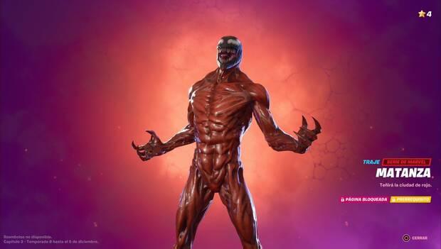 Fortnite Battle Royale - Skin Matanza
