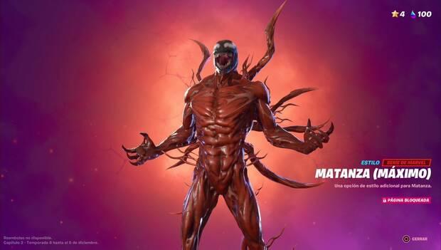 Fortnite Battle Royale - Skin Matanza Máximo
