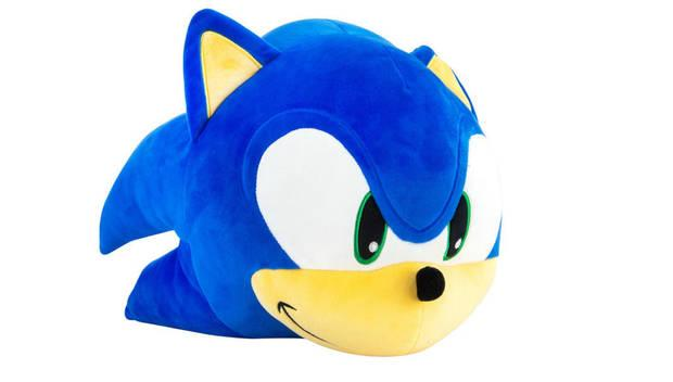 Sonic and his new TOMY stuffed animals
