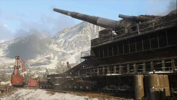 Mapa Gustav Cannon de Call of Duty: WWII