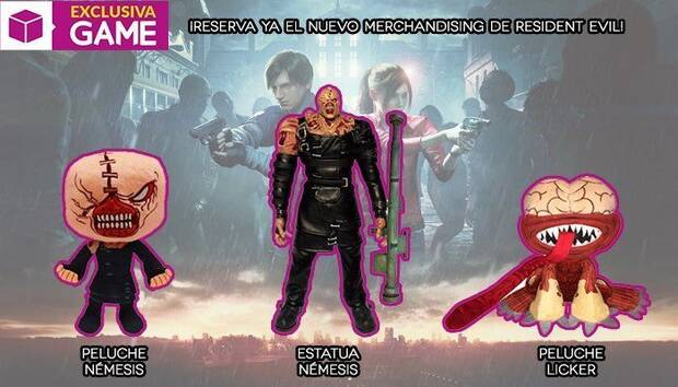 GAME detalla su merchandising e incentivos para Resident Evil 2 Remake Imagen 3