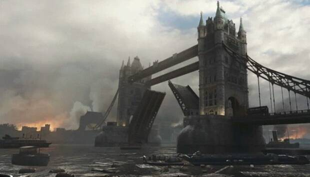 Mapa London Docks de Call of Duty: WWII