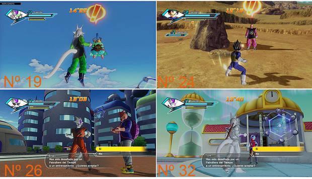 Secundarias Ball Guía Misiones Dragon Xenoverse WE29DIHYe